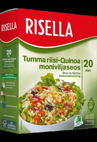 Risella Tumma Riisi-Quinoa Monivilja 800g
